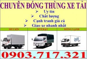 Đóng thùng xe tải tại Tp.HCM