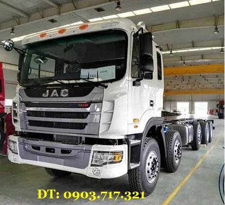Bán xe tải Jac 5 Chân 340HP