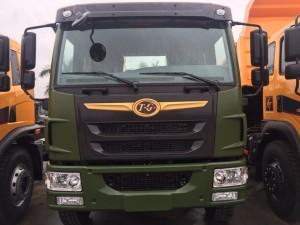 Xe ben DongFeng 8.75 tấn (8T75) loại mới. Bán trả góp xe ben DongFeng 8,75 tấn máy Faw giá tốt nhất.
