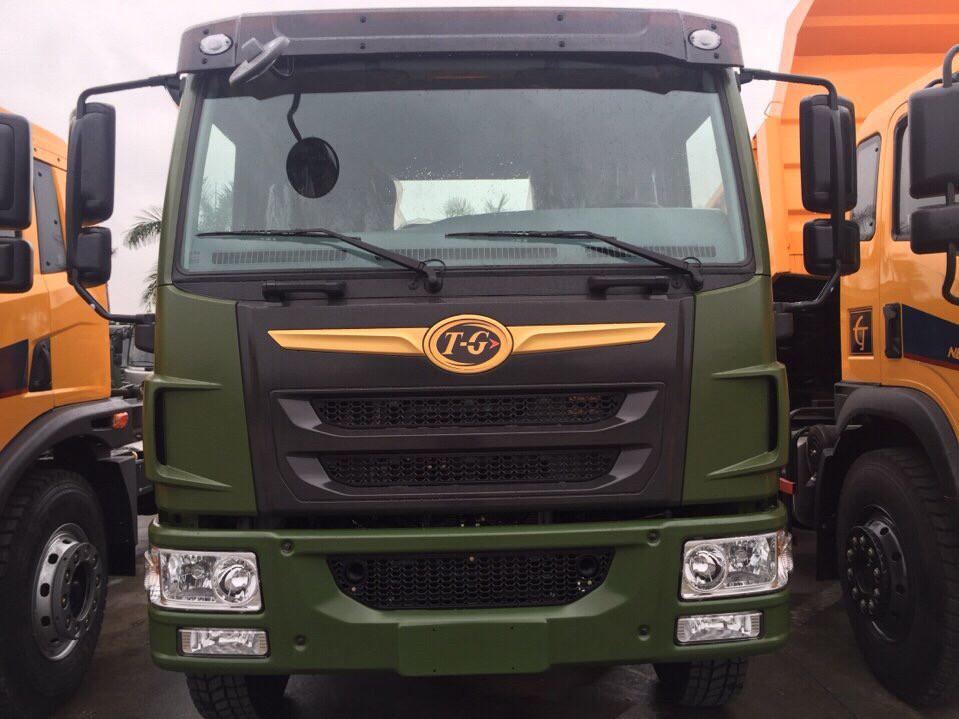 Đại lý bán xe tải tự đổ dongfeng 8T75 9 tấn đời 2015 - Bán xe ben dongfeng 8T75 9 tấn