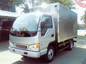 Xe tải Jac 2t4, 2.4 tấn, 2,4 tấn tổng trọng tải 4995 kg nhiều ưu điểm nổi bật Xe tải Jac 2T4 HFC