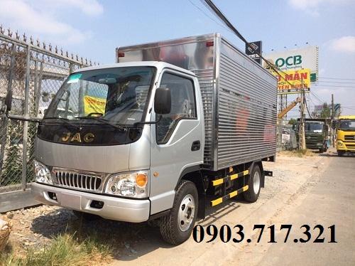 Cần bán xe tải Jac 2.4 tấn - 2,4 tấn - 2400Kg - 2T4 thùng dài 3m7 bảo hành dài 3 năm.