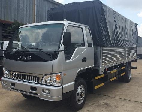 Giá xe tải Jac 7t25 thùng mui bạt 2017 giá tốt nhất, giao xe ngay
