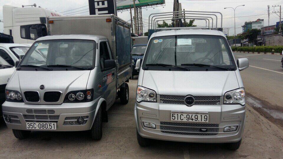 Bán xe tải DFSK nhập khẩu Thái Lan thùng mui bạt, thùng mui kín giao xe ngay giá Hot.