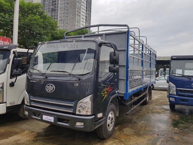 Bán xe tải Faw 7T3, 7300kg, 7tan3 động cơ Hyundai D4DB thùng dài 6m3 giá cạnh tranh.