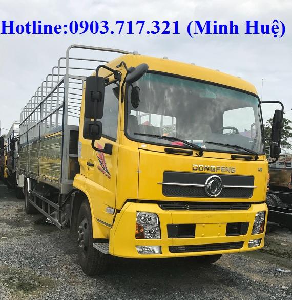 Bán xe tải DongFeng B170 (9T35) thùng Inox mở 9 bửng