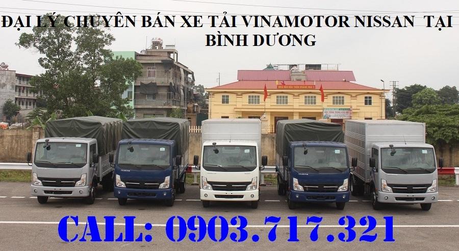 Xe tải Nissan 1t9 Vinamotor. Giá bán xe tải Nissan 1T9 NS200 mới