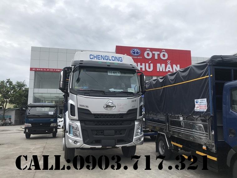 Chợ ôtô: Xe tải ChengLong 3 chân . Xe tải ChengLong 3 chân tải 13T95  Xe-ChengLong-3-ch%C3%A2n-1