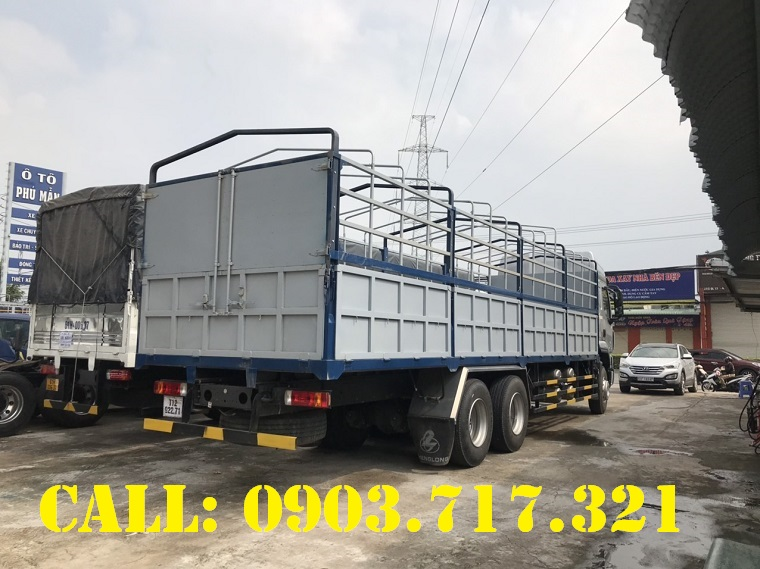 Chợ ôtô: Xe tải ChengLong 3 chân . Xe tải ChengLong 3 chân tải 13T95  Xe-tai-chenglong-3-ch%C3%A2n
