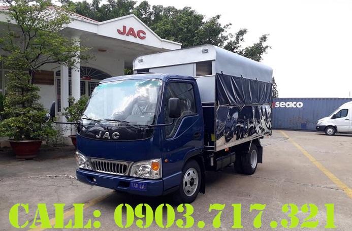 Chợ ôtô: Bán xe tải Jac 3t5 trường lái phục vụ đào tại lái xe giá tốt hỗ trợ   B%C3%A1n-xe-t%E1%BA%A3i-t%E1%BA%ADp-l%C3%A1i-jac-3t5