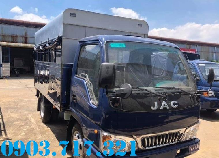 Chợ ôtô: Bán xe tải Jac 3t5 trường lái phục vụ đào tại lái xe giá tốt hỗ trợ   Xe-tai-day-hoc-lai-xe-bang-c