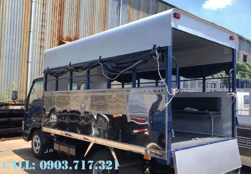 Chợ ôtô: Bán xe tải Jac 3t5 trường lái phục vụ đào tại lái xe giá tốt hỗ trợ   Xe-tai-jac-hoc-day-lai-xe-bang-c