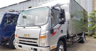 Xe tải Jac N650 thùng kín